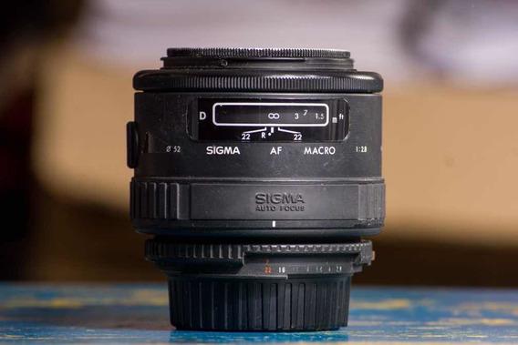 Lente Sigma 90mm 2.8 Macro