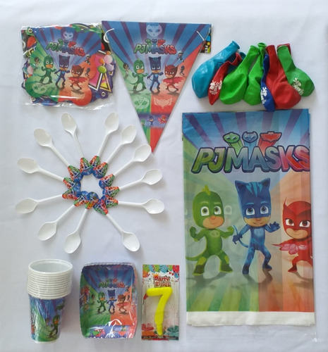Kit Para Fiesta Infantil 24 Invitados