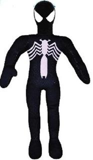 Muñeco Soft Spiderman Negro
