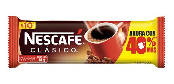 Cafe Nescafe Clasico Chuby 16/14gr (1 Pieza)