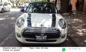 Mini Cooper Salt Pepper White