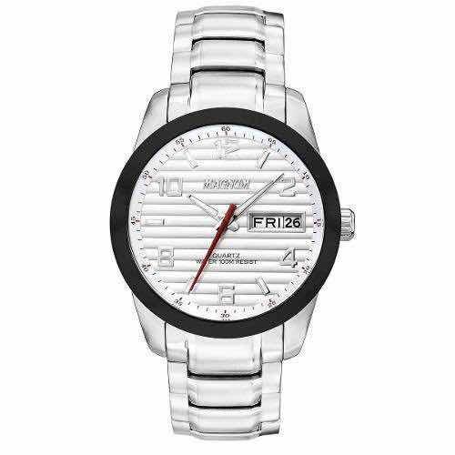 Relógio Magnum Masculino Prateado Ma32649q