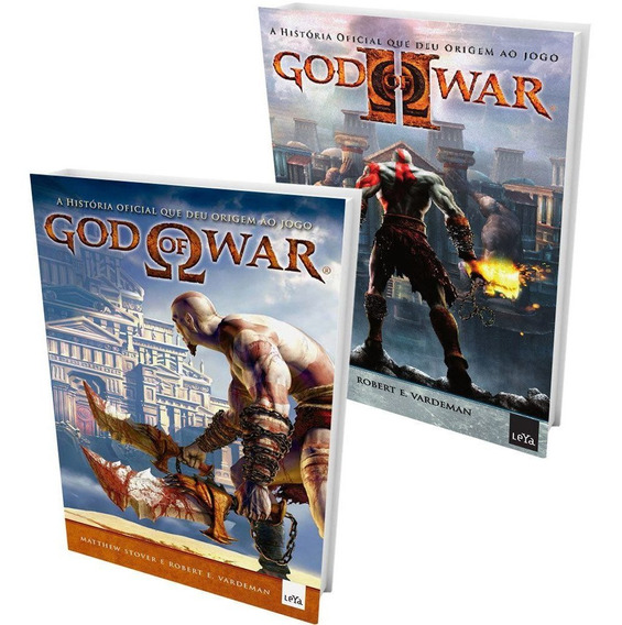 Kit Livros - God Of War + God Of War 2 (2 Livros) #