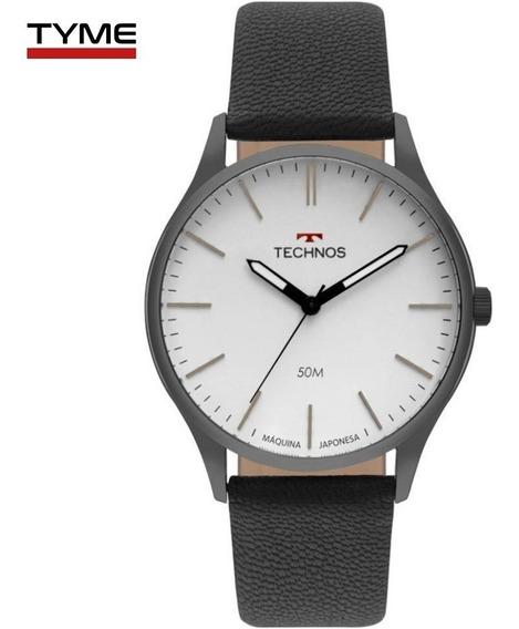 Relógio Technos Masculino Steel 2035mqq/2b Preto - C/ Nfe
