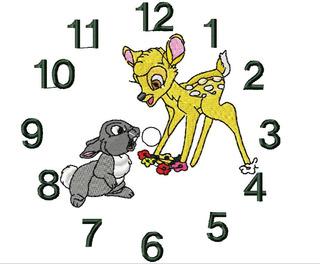 Matrizes Bordado Computadorizado - Relógio 4
