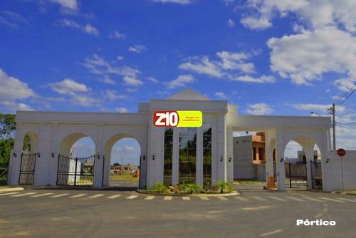 Z10 Imoveis - Te0923 - At 202m² - Terreno Em Condomínio Fechado Excelente Topografia - Park Real - Te05923 - 34775527