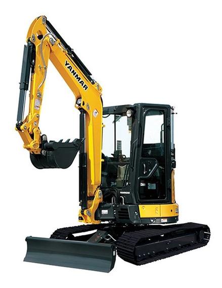 Miniexcavadora Mini Excavadora Yanmar 4 Ton Consultar Precio