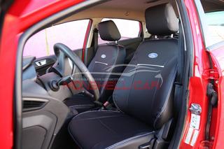 Capas Bancos Carro Couro P/ New Fiesta Hatch S 1.5 16v 2014