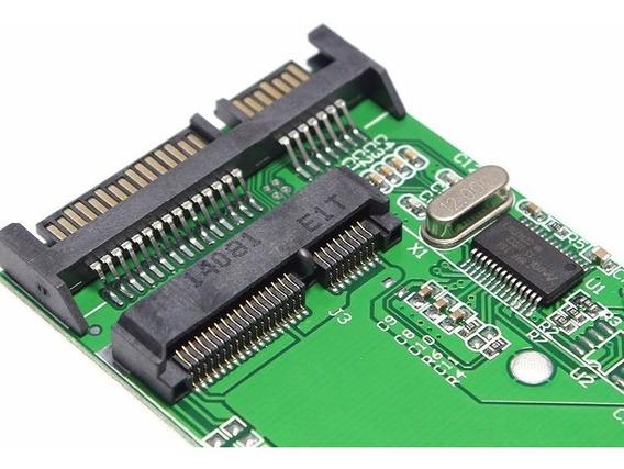 Adaptador Conversor Msata Mini Pci-e Ssd Para Sata 2.5
