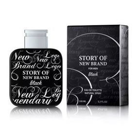 Perfume Story Of New Brand Black Eau De Toilette 100ml