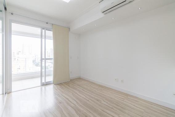 Studio No 9º Andar Com 1 Dormitório E 1 Garagem - Id: 892952059 - 252059