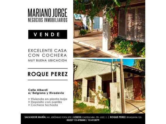 Casa Tipo Chalet En Roque Perez