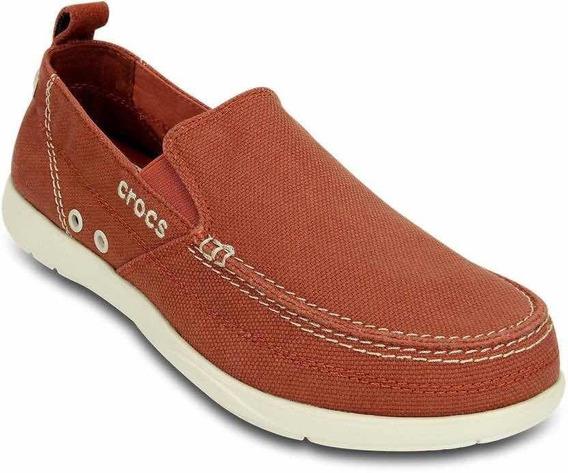 Zapatillas Panchas Crocs Walu Adulto Terracota Art 11270