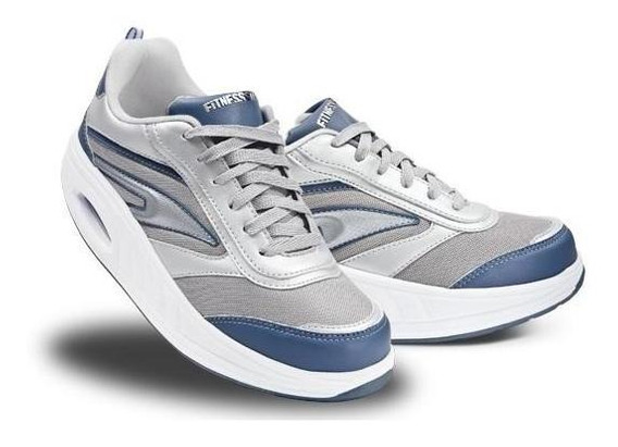 Tenis Fitness Step Suela Curva Maximo Comfort
