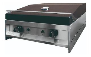 Parrilla Grill Electrica Kokken Acero Inoxidable 67 X 60 Cm