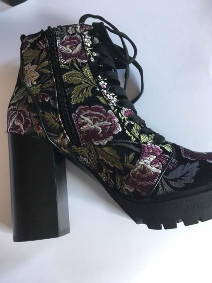 Zapatos Botines Steve Madden Con Plataforma Color Negro