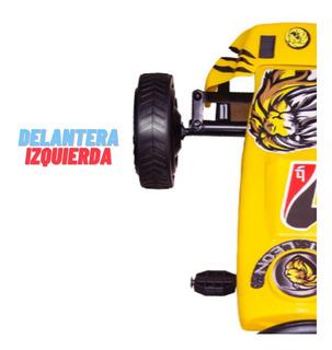 Llanta De Repuesto De Hule Para Kart León Original