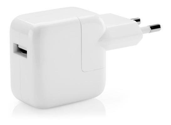 Carregador iPad iPhone 12w Original Apple Plug Br