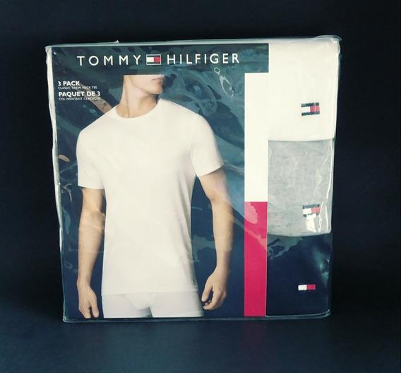 Polos Tommy Hilfiger Pqte De 3 Unidades Mix-colors Talla [l]