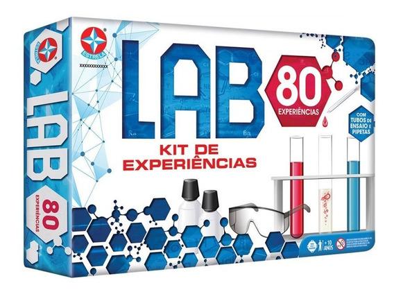 Jogo Lab 80 Tipos De Experiências Estrela