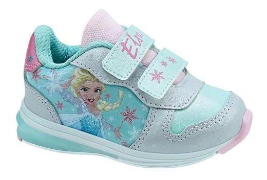 Tenis Casual Frozen 1 Elsa Niña Infantil Moda Talla 12-16 R