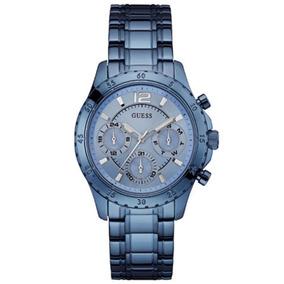 Relógio Feminino Guess Azul Multifunção 92581lpgsea3
