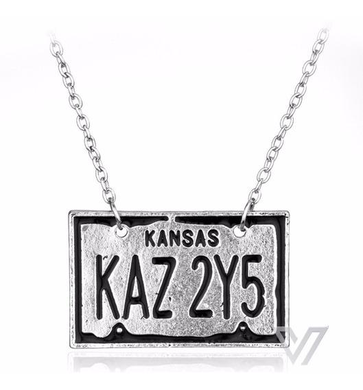 Colar Supernatural Kansas Dean Winchester Sobrenatural