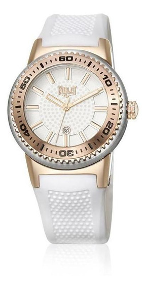 Relógio Pulso Everlast Pulseira Silicone Feminino E454