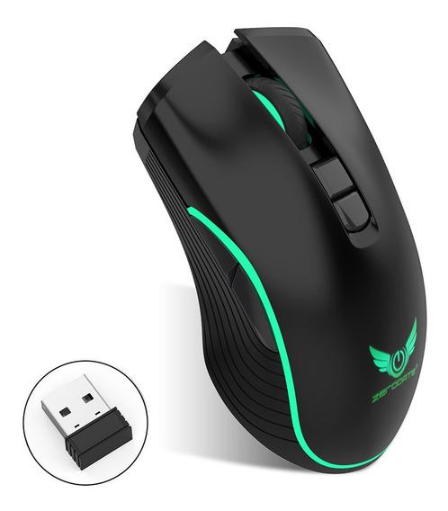 3*zerodate T26 Mouse Sem Fio Ratos 2.4 Ghz Tipo C Recarregáv
