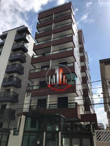 Apartamento De 1 Dormitórios Com Sacada Gourmet Na Guilhermina - Ap2244