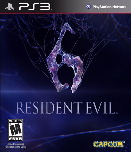 Resident Evil 6 Juego Ps3 Original Re6 Playstation 3 Español