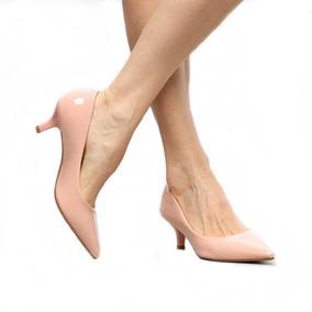 76ad66c40f Sapato Estilo Boneca - Rosa Mulher Feminino Scarpins - Sapatos com o ...