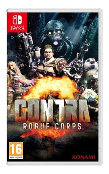 Contra Rogue Corps - Nintendo Switch Midia Fisica