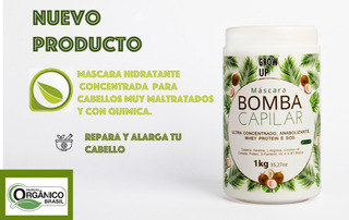 Mascara Hidratante Capilar Anabolizante 1 Kg Brasilera
