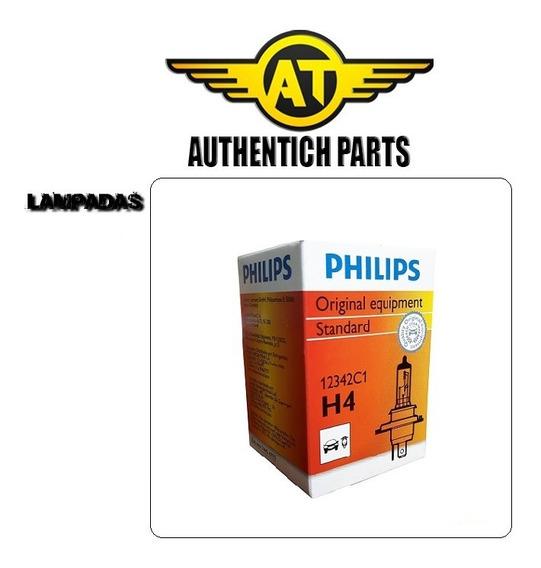 Lampada Philips Standard H4 Gm Chevrolet Omega 2.0 92 A 94 - Lampada Do Farol Baixo E Alto