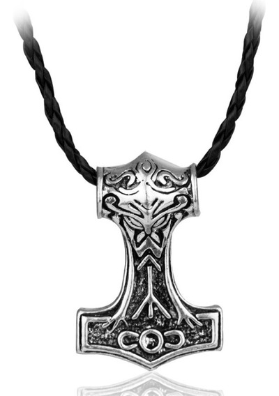Collar Vikingo Amuleto Talisman Cosplay Coleccion Caballero