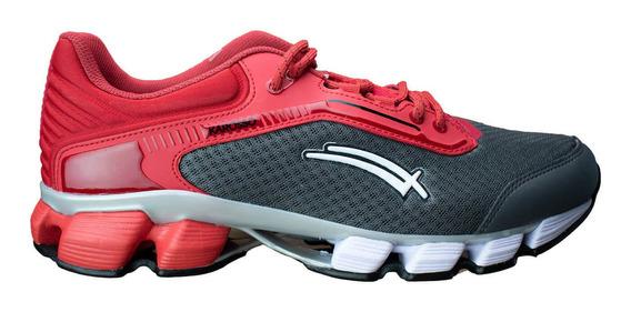 Tenis Para Correr Karosso Rojo Oxford 6319