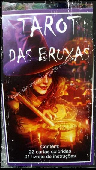 Tarot Das Bruxas 22 Cartas Mais 1 Livreto