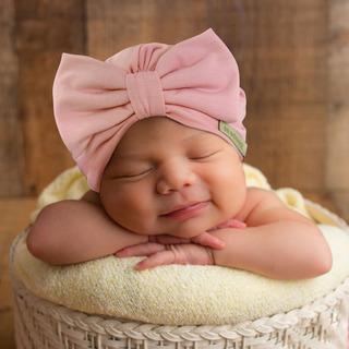 Turbante Gorrito De Algodón Para Bebé Hipoalergénico