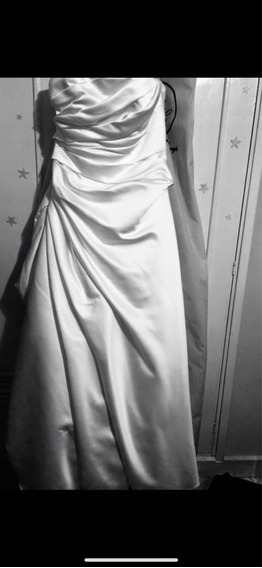 Vestido De Novias Pronovia Blanco Perla Hermoso