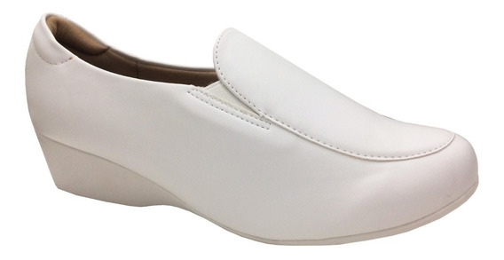Sapato Modare 7014.104 Branco Feminino Enfermagem - 27014