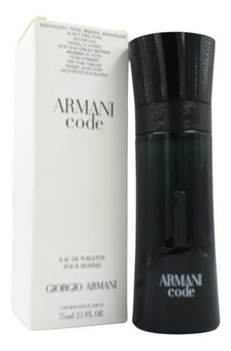 Imagen 1 de 1 de Armani Code Edt 75ml (tester)