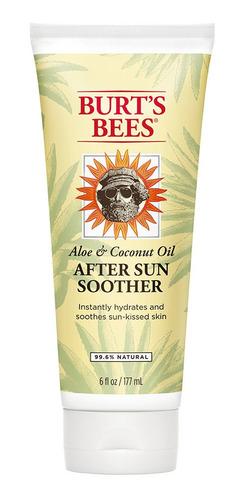 Loción Refrescante Burts Bees Post Solar Aloe Y Tilo 177ml