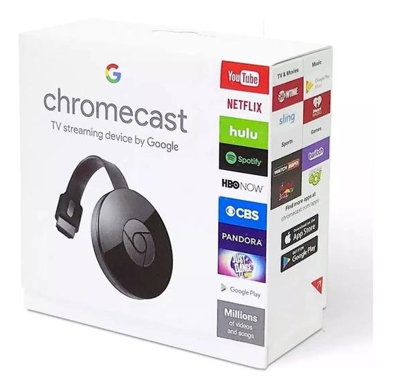 Chromecast 2 Original Netflix Youtube Google Photos Novo