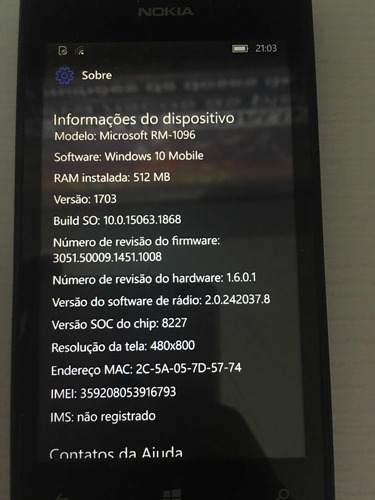Windows Phone Nokia Lumia 520 Com Windows 10 Biticoin Miner