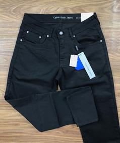 Calça Calvin Klein Jeans Ckj Preta Skinny