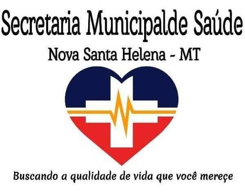 Imagem 1 de 1 de Logo Secretária De Saúde Nsh - Mt