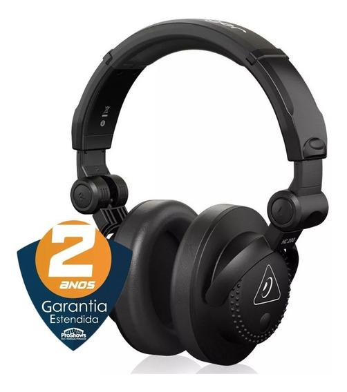 Fone De Ouvido Headphones Behringer Hc 200 Dj Profissional