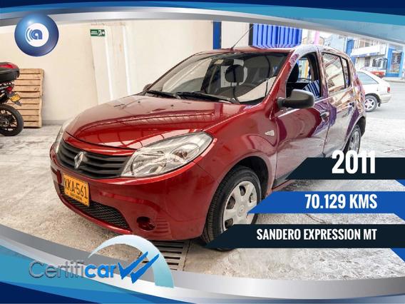 Renault Sandero Expression Financio
