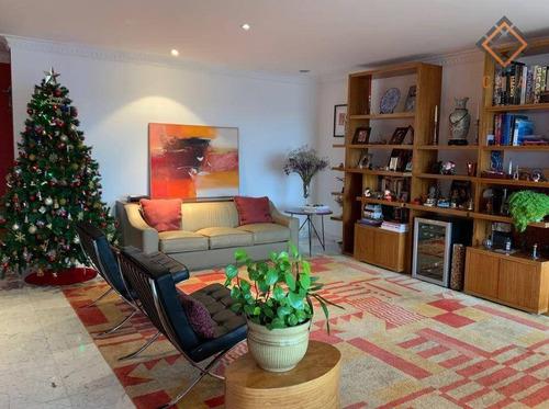 Imagem 1 de 27 de Apartamento Com 3 Dormitórios À Venda, 210 M² Por R$ 1.500.000,00 - Morumbi - São Paulo/sp - Ap51852